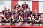 Gallatin Bulldogs Boys Varsity Football Fall 17-18 team photo.