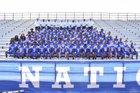 West Memphis Blue Devils Boys Varsity Football Fall 17-18 team photo.