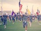 Marble Falls Mustangs Boys Varsity Football Fall 17-18 team photo.