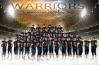Ruidoso Warriors Boys Varsity Football Fall 17-18 team photo.