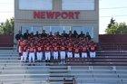 Newport - Bellevue Knights Boys Varsity Football Fall 17-18 team photo.