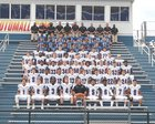 Ravenna Ravens Boys Varsity Football Fall 17-18 team photo.