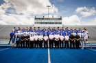 Lovington Wildcats Boys Varsity Football Fall 17-18 team photo.
