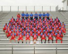 Marion Patriots Boys Varsity Football Fall 17-18 team photo.