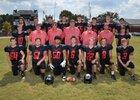 Cutter-Morning Star Eagles Boys Varsity Football Fall 17-18 team photo.