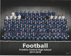 Franklin Central Flashes Boys Varsity Football Fall 17-18 team photo.