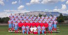 Sandia Matadors Boys Varsity Football Fall 17-18 team photo.