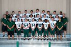 Charles Wright Tarriers Boys Varsity Football Fall 17-18 team photo.