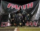 Faith Christian Lions Boys Varsity Football Fall 17-18 team photo.