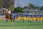 Nordhoff Rangers Boys Varsity Football Fall 17-18 team photo.