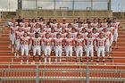 Gravette Lions Boys Varsity Football Fall 17-18 team photo.