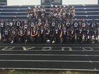 Lafayette County Cougars Boys Varsity Football Fall 17-18 team photo.