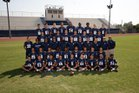 Aquinas Falcons Boys Varsity Football Fall 17-18 team photo.