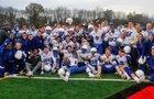 Hall Warriors Boys Varsity Football Fall 17-18 team photo.