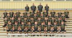 Pottsville Apaches Boys Varsity Football Fall 17-18 team photo.