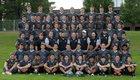 Burke Catholic  Boys Varsity Football Fall 17-18 team photo.