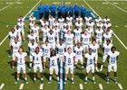 Monticello Billies Boys Varsity Football Fall 17-18 team photo.