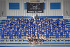 Adna Pirates Boys Varsity Football Fall 17-18 team photo.