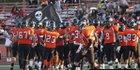Pittsburg Pirates Boys Varsity Football Fall 17-18 team photo.