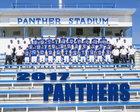 Fort Stockton Panthers Boys Varsity Football Fall 17-18 team photo.