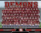 Warner Robins Demons Boys Varsity Football Fall 17-18 team photo.