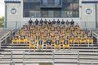 Wilmington Area Greyhounds Boys Varsity Football Fall 17-18 team photo.