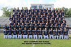 West Clermont Wolves Boys Varsity Football Fall 17-18 team photo.