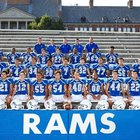 Port Chester Rams Boys Varsity Football Fall 17-18 team photo.