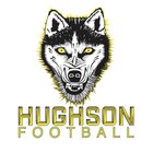 Hughson Huskies Boys Varsity Football Fall 17-18 team photo.