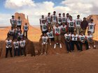 Wingate  Boys Varsity Football Fall 17-18 team photo.