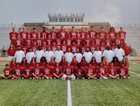 Tomball Cougars Boys Varsity Football Fall 17-18 team photo.