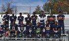 KIPP College Prep Panthers Boys Varsity Football Fall 17-18 team photo.