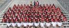 Irwin County Indians Boys Varsity Football Fall 17-18 team photo.