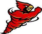 Kingston Cardinals Boys Varsity Football Fall 17-18 team photo.