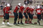 Creekview Mustangs Boys Varsity Football Fall 17-18 team photo.