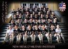 New Mexico Military Institute Colts Boys Varsity Football Fall 17-18 team photo.
