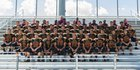 Eldorado Sundevils Boys Varsity Football Fall 17-18 team photo.