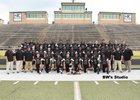 Hot Springs Trojans Boys Varsity Football Fall 17-18 team photo.