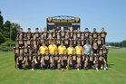 Prairie Grove Tigers Boys Varsity Football Fall 17-18 team photo.