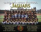 Ontario Jaguars Boys Varsity Football Fall 17-18 team photo.