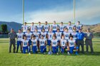 Manson Trojans Boys Varsity Football Fall 17-18 team photo.
