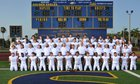 Naples Golden Eagles Boys Varsity Football Fall 17-18 team photo.