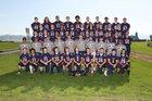Mt. Spokane Wildcats Boys Varsity Football Fall 17-18 team photo.