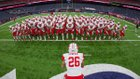 Katy Tigers Boys Varsity Football Fall 17-18 team photo.