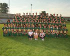 Richland Bombers Boys Varsity Football Fall 17-18 team photo.