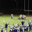Prescott Badgers Boys Varsity Football Fall 17-18 team photo.