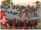 North Stars Boys Varsity Football Fall 17-18 team photo.