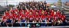 Smoky Hill Buffaloes Boys Varsity Football Fall 17-18 team photo.