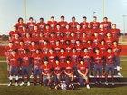 Veterans Memorial Eagles Boys Varsity Football Fall 17-18 team photo.