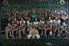 Richard Wright Public Charter School Spartans Boys Varsity Football Fall 17-18 team photo.